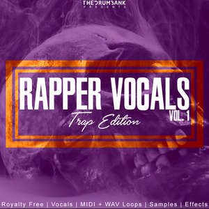 Sample pack Rapper Vocals Vol. 1 (Trap Music)