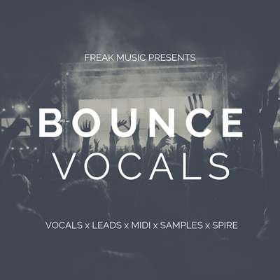 Sample pack Bounce Vocals