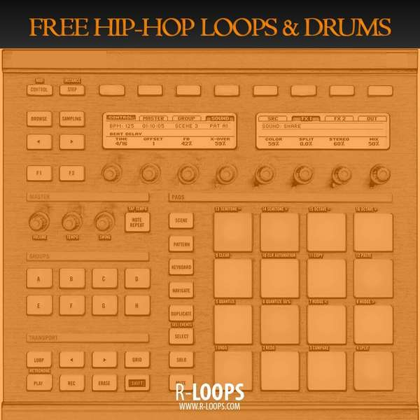 Sample pack Free Hip-Hop Loops and Drums